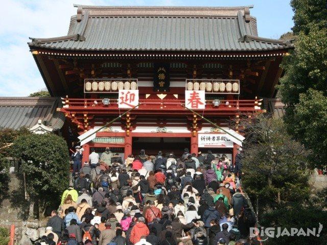 鹤冈八幡宫1