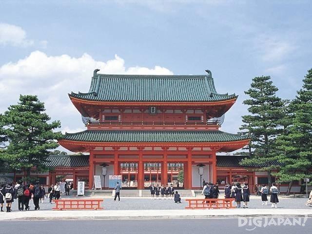 5. 京都平安神社1