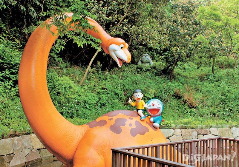 藤子・F・不二雄ミュージアムの恐竜