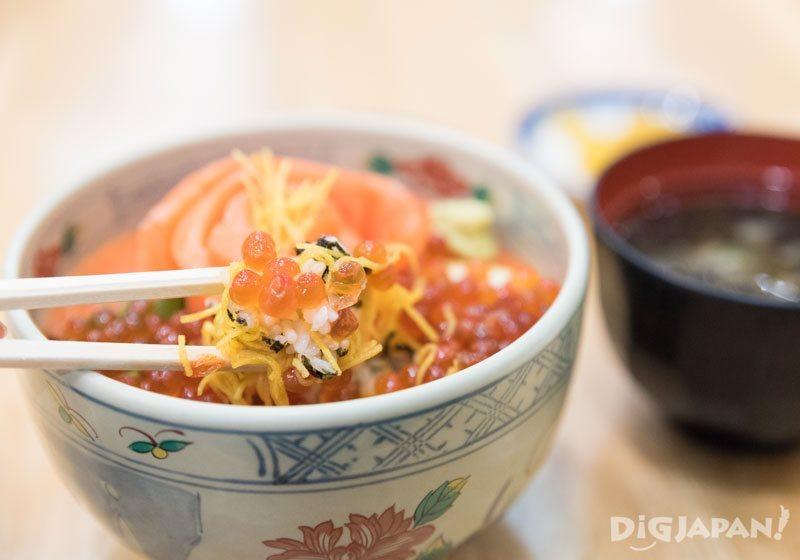 Umako to Yasube大马哈鱼子鲑鱼套餐