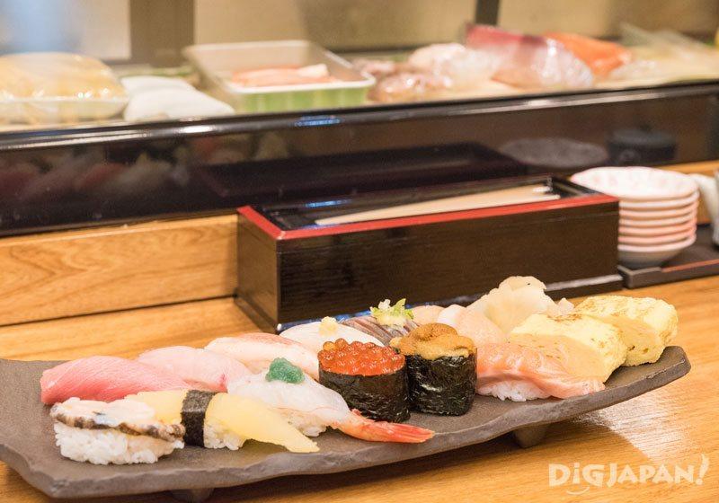 Sushi at Sushi Dokoro Hakodate 1