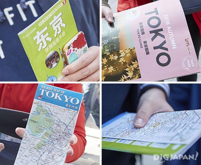 外国人観光客からはわかりにくいと言われることもある多言語地図
