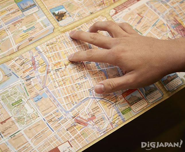 東京全体の地図の他に、エリアごとの詳細があってわかりやすい