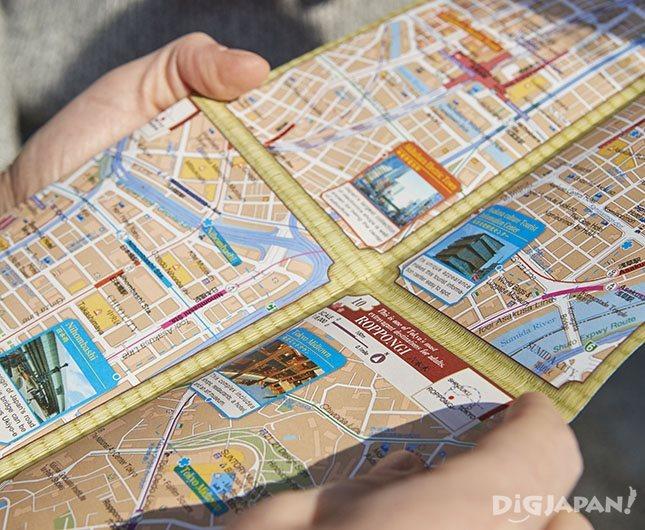 徹底的に外国人目線を追求した多言語地図
