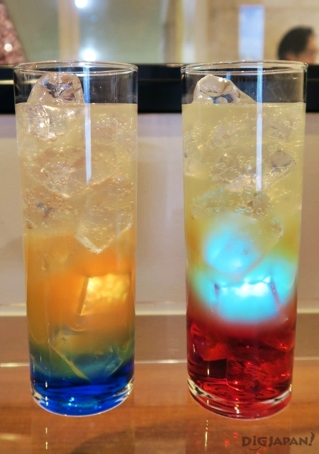 Kataware-doki Soda (Taki and Mitsuha versions) from Kimi No Na Wa cafe