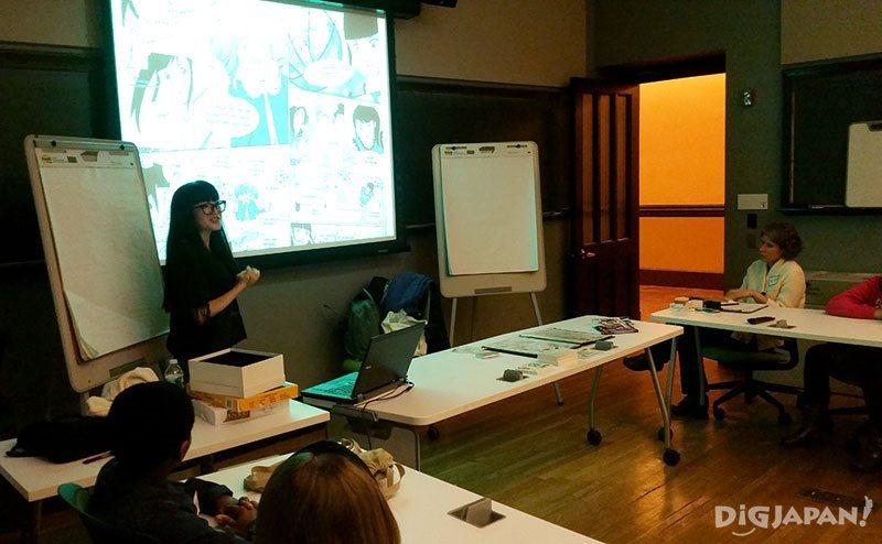 ミサコ・ロックスの漫画講習会2