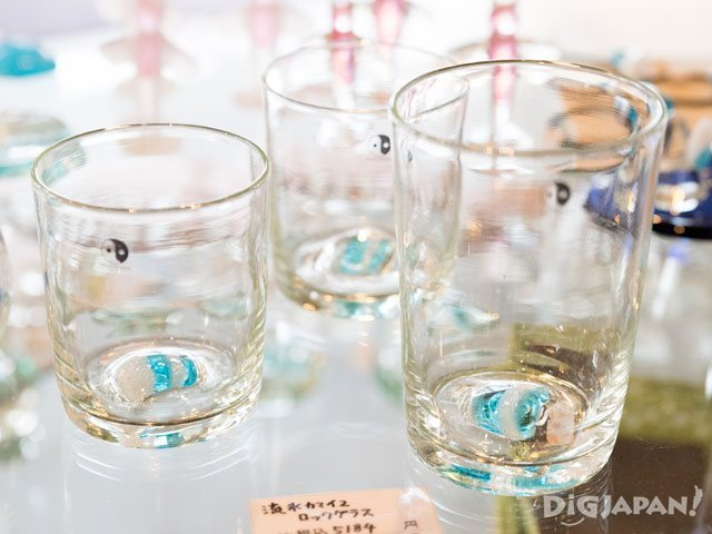 Ryuhyo Glass Kan rock glasses