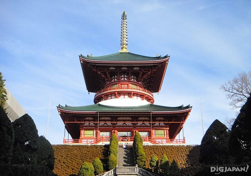 Great Peace Pagoda ที่สูงกว่า 58 เมตรนี้ สามารถเข้าไปเดินชมด้านในได้ด้วยนะ