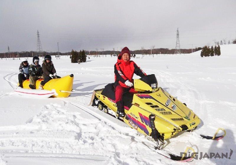 RURUMAP雪地香蕉船