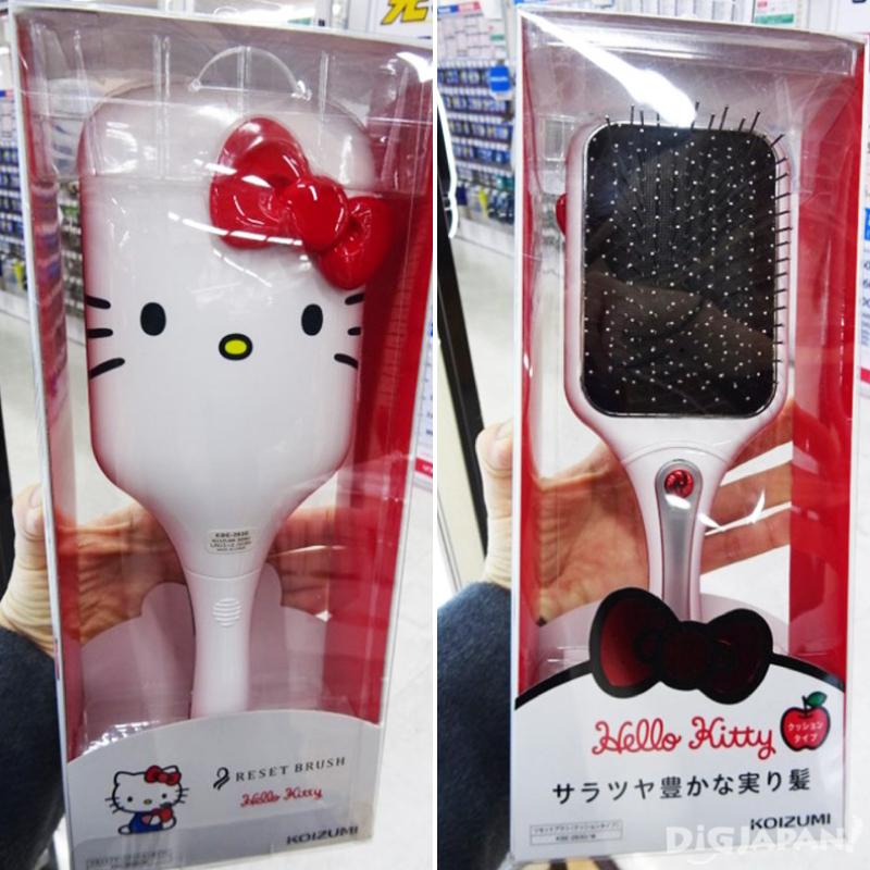 KOIZUMIリセットブラシ 音波磁氣美髮梳(譯) Hello Kitty版