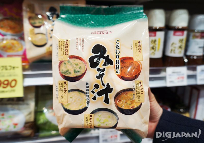 成城石井速食味噌湯