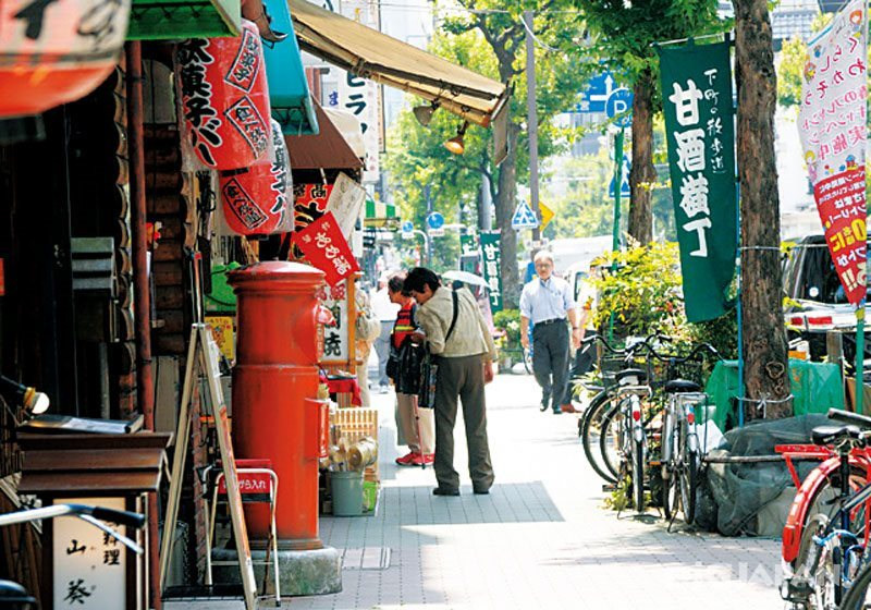 Amazake Yokocho in Ningyocho