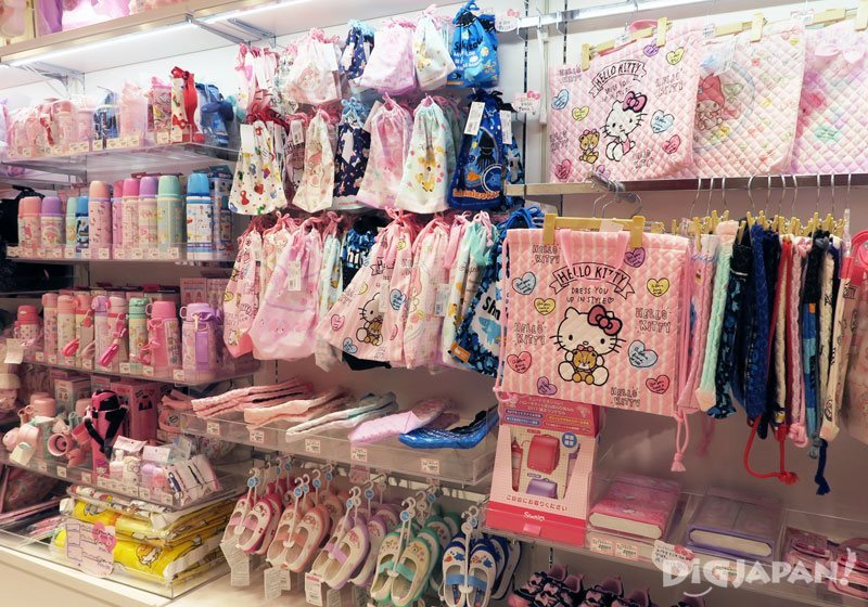 Inside the Sanrio Gift Gate store