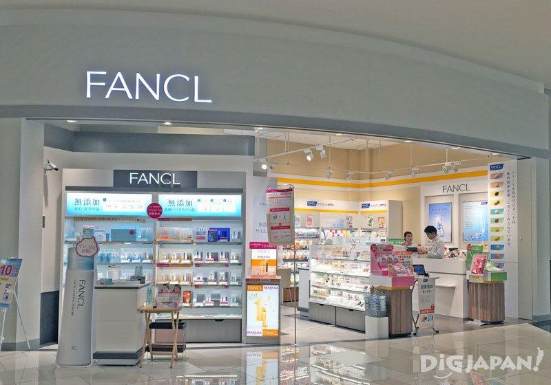 บรรยากาศด้านนอกร้าน FANCL