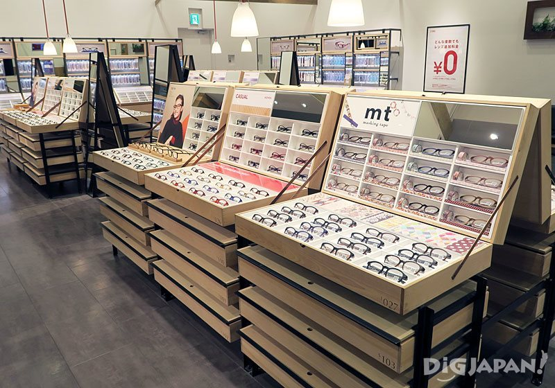 Inside the JINS store