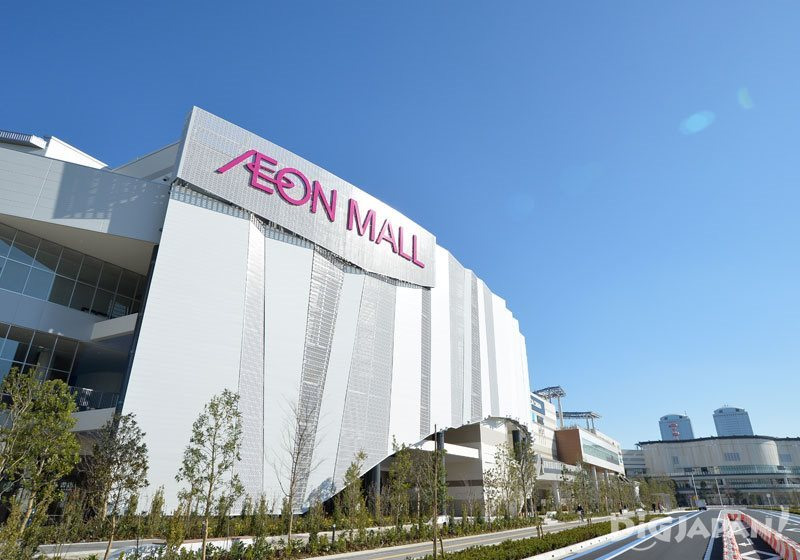 Exterior of AEON MALL Makuhari New City