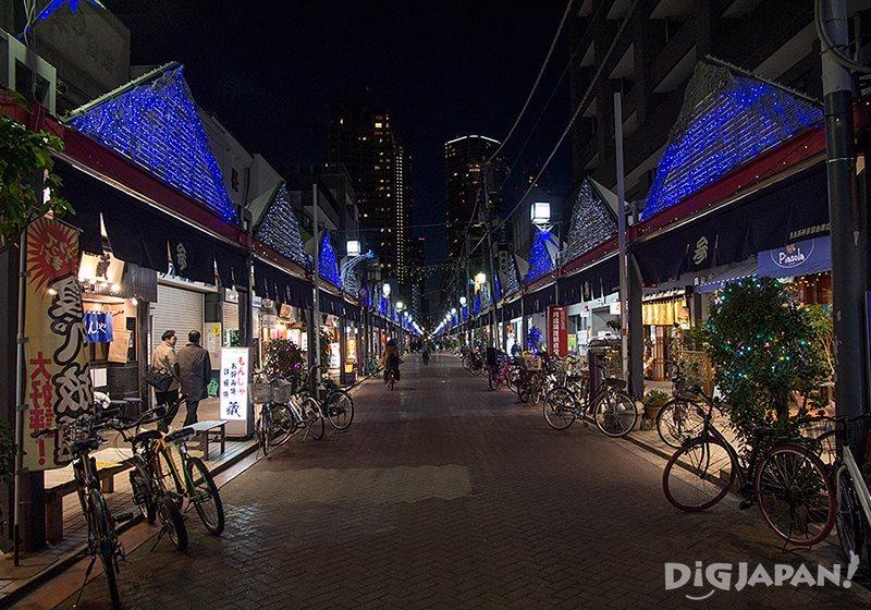 Nishi-Nakadori Street for monja