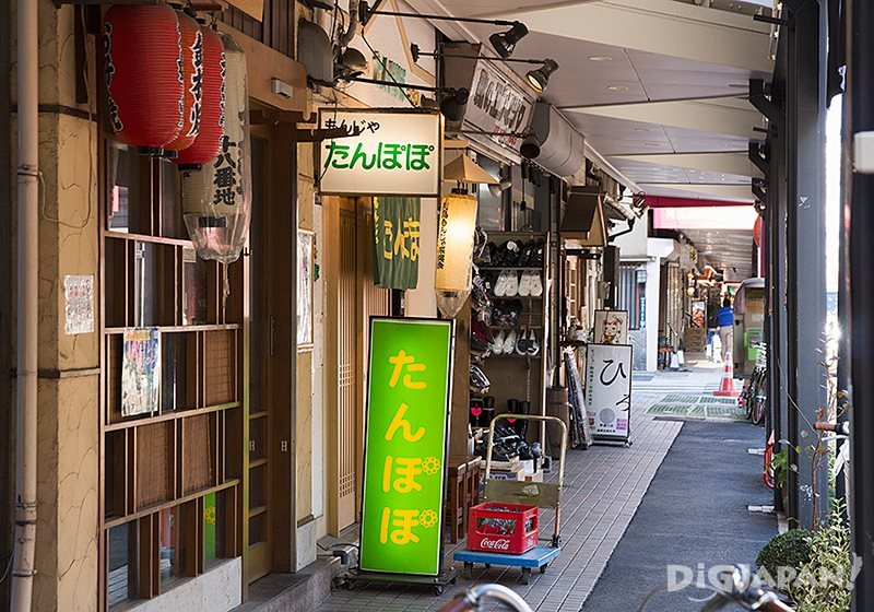 Monja restaurants at Tsukijima