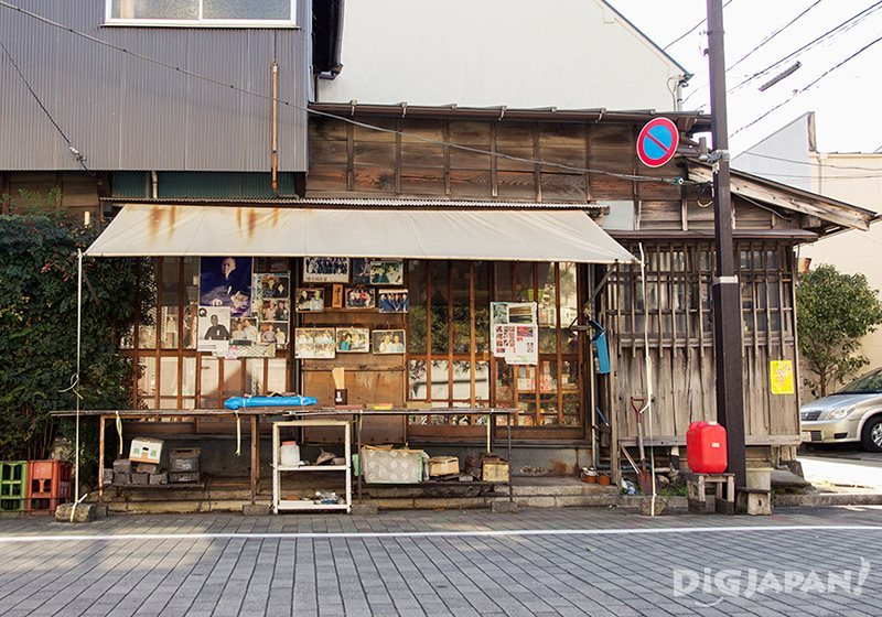 The scenery of Tsukishima in Tokyo_1