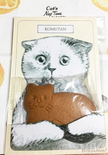 包裝設計和內容物超可愛的貓貓餅乾