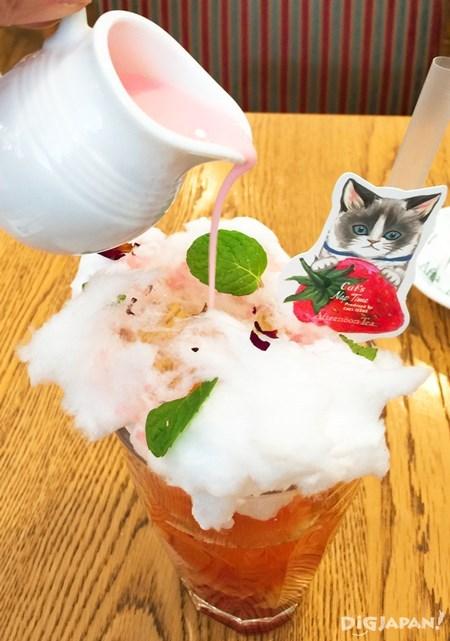 薰衣草冰茶