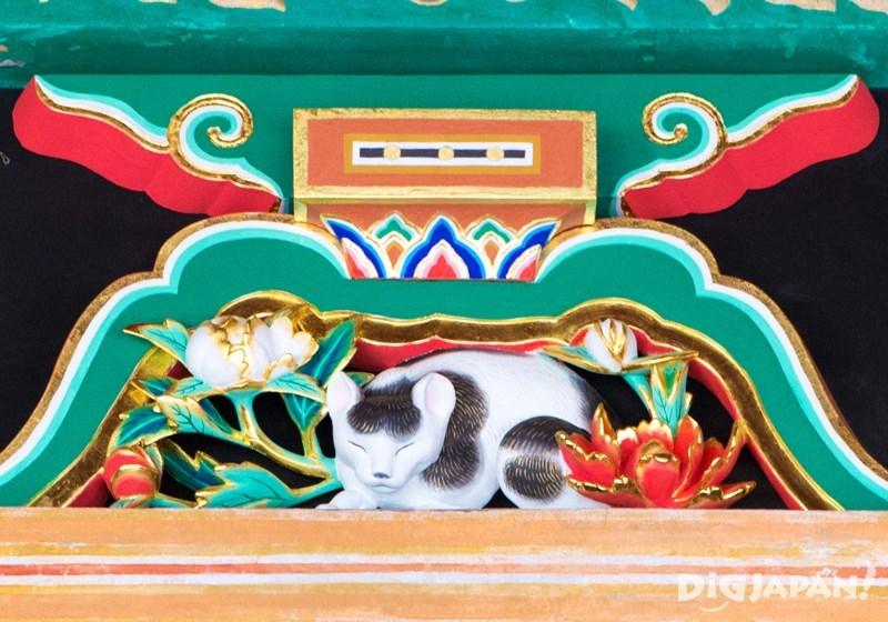 日光東照宮睡貓