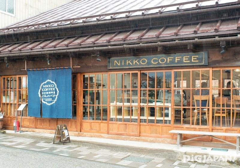 NIKKO COFFEE日光珈琲御用邸通店門口