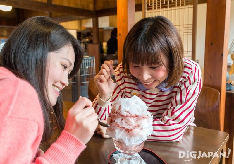 NIKKO COFFEE日光珈琲御用邸通店草莓冰淇淋