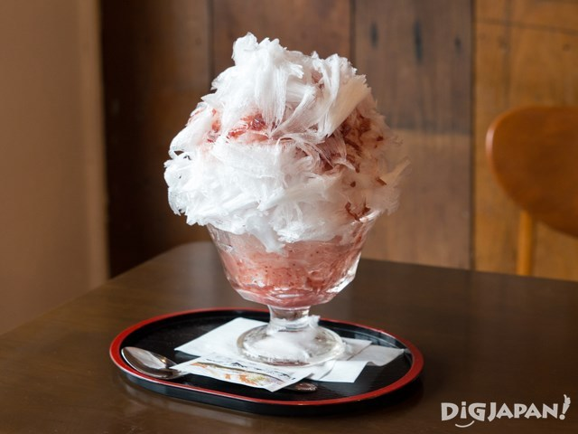NIKKO COFFEE日光珈琲御用邸通店草莓刨冰