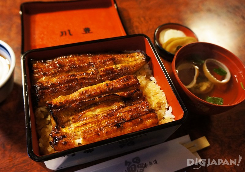 川豐鰻魚飯