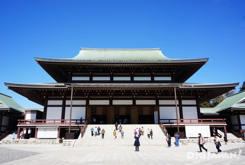 成田山新胜寺大本堂