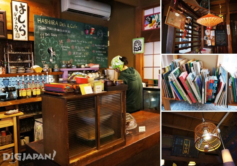 HASHIRA Deli&Cafe店内