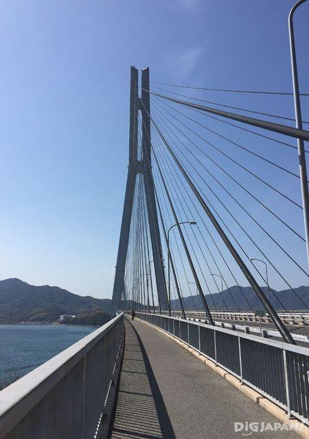 多々羅大橋_橋上