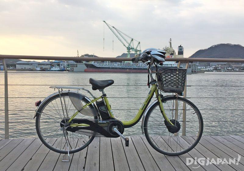 しまなみレンタサイクル_電動アシスト自転車