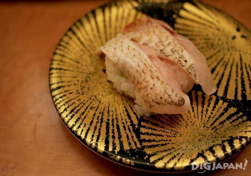 喉黑鱼寿司