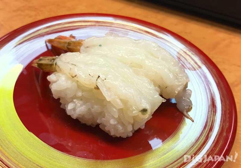 煤氣蝦壽司