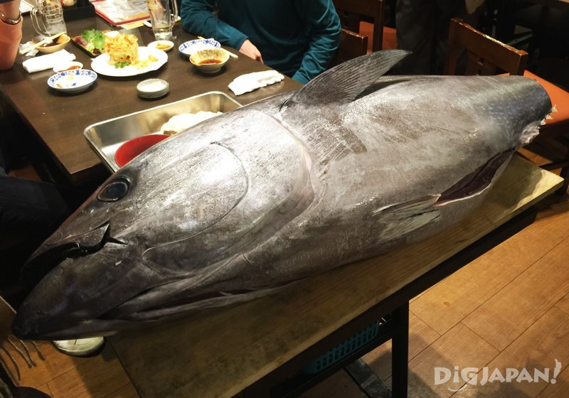 築地鮪魚解體秀