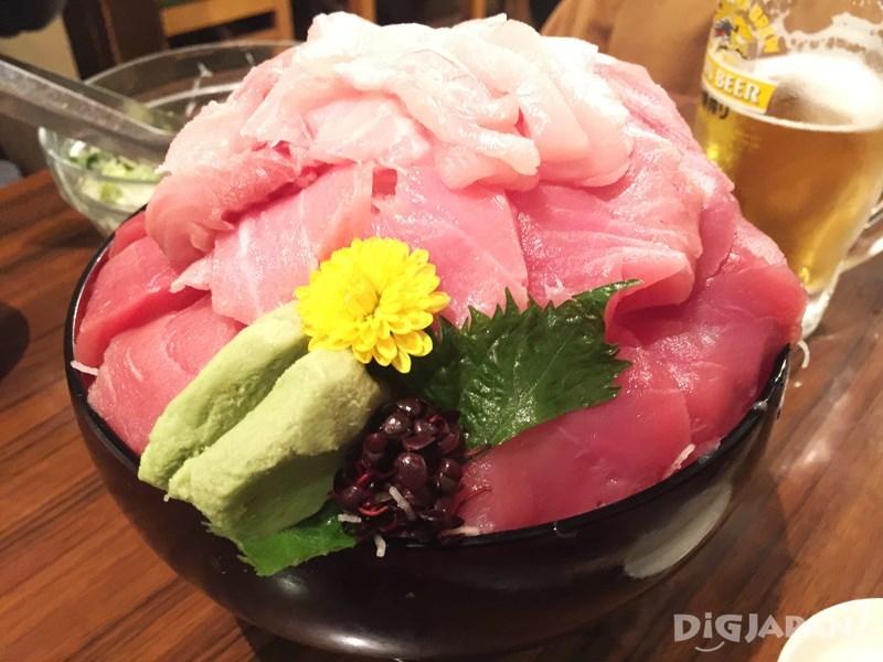 TAIKO茶屋生魚片