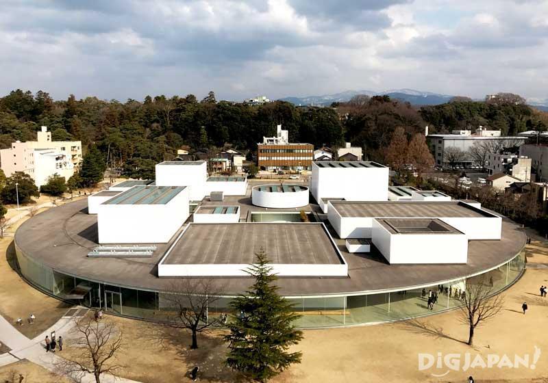 金泽21世纪美术馆外观