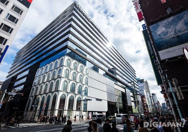 店鋪外觀由世界知名建築師谷口吉生操刀設計