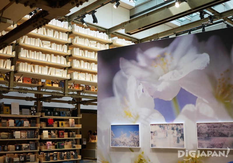 以日本建築櫓為原型設計的天庭展示空間「T-GALLERIA」