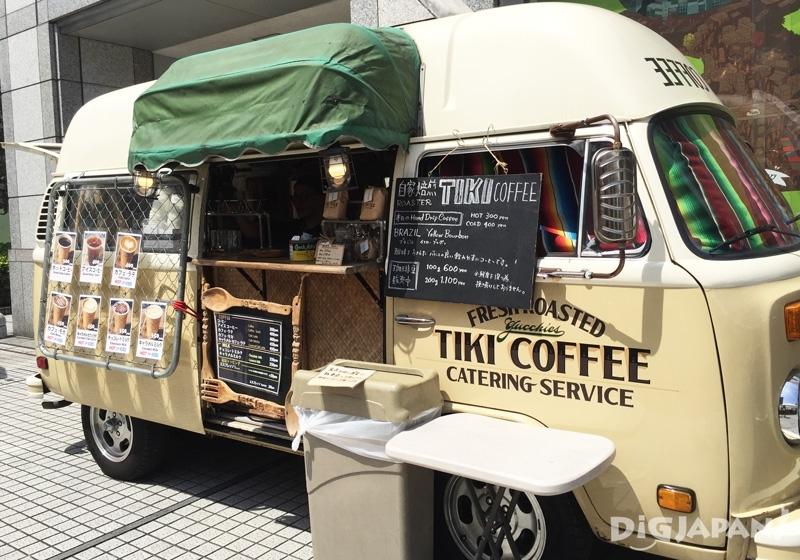 TIKI自家烘培咖啡車