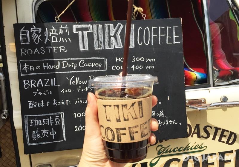 TIKI自家焙煎冰咖啡