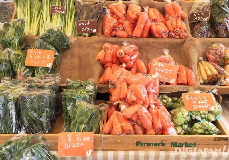 Farmer's Market各式新鮮蔬果