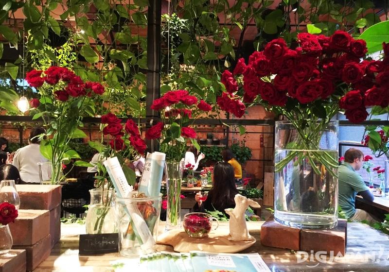 Aoyama Flower Market TEA HOUSE店內裝飾