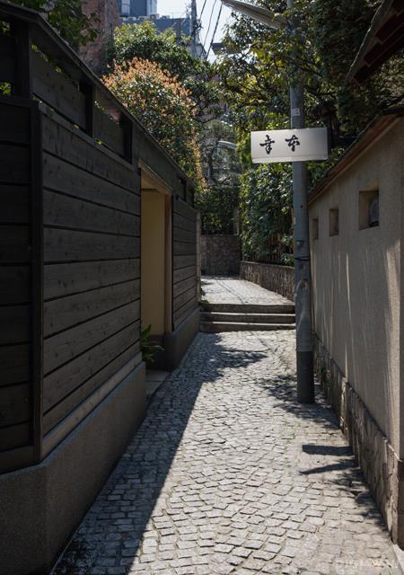 神乐坂石板路2