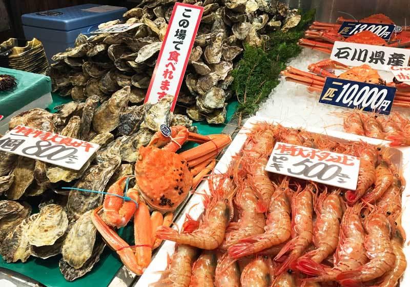 กุ้งและหอยไซส์ใหญ่จนน่าตกใจ!
