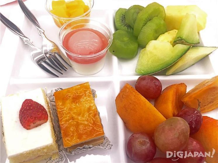 ผลไม้และของหวาน