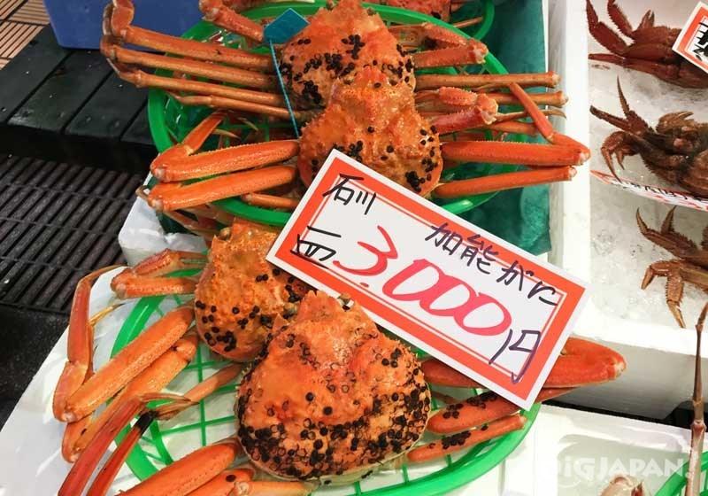 카나자와/오미초시장 먹방 코스5