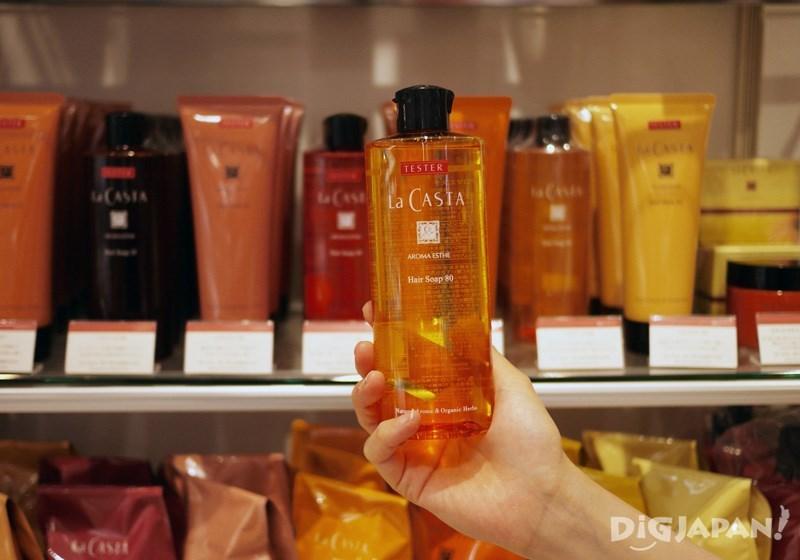 La CASTA AROMA ESTHE洗髮精80、髮膜80